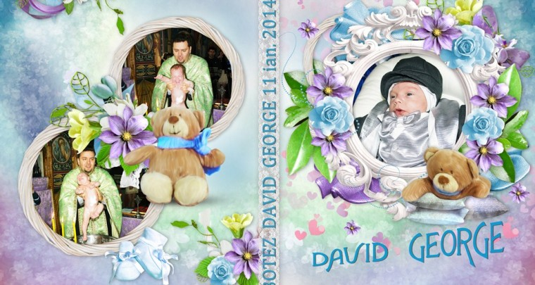 Botez coperta si fete DVD David George